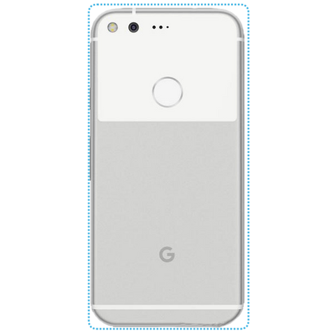 Customized Google Nexus 6P Skin Sticker