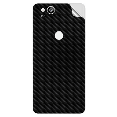 google pixel 2 Black Carbon Fiber Skin Sticker