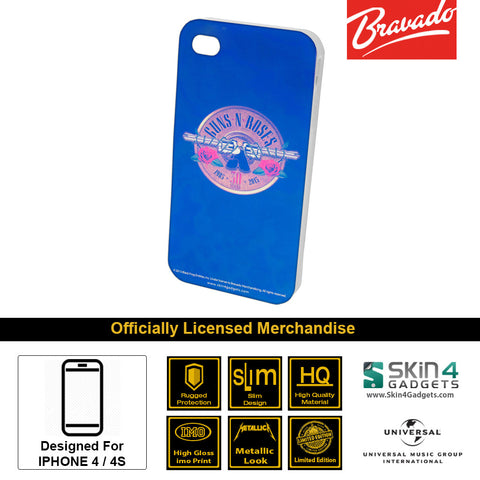 Phone Case For iPhone 4  Artist: Guns n Roses Emblem  30 Years Edition