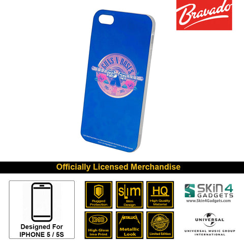 Phone Case For iPhone 5  Artist: Guns n Roses Emblem  30 Years Edition