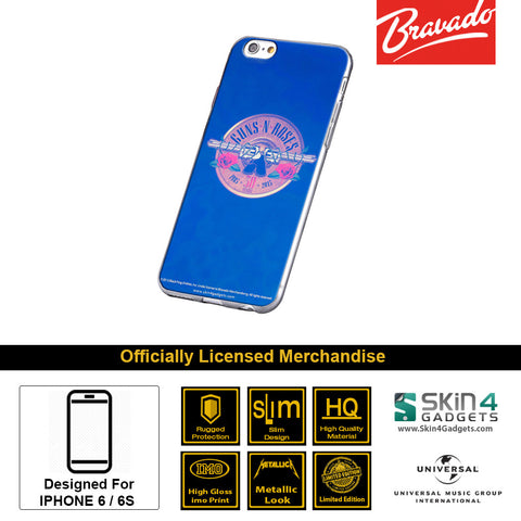 Phone Case For iPhone 6 , iPhone 6S  Artist: Guns n Roses Emblem  30 Years Edition