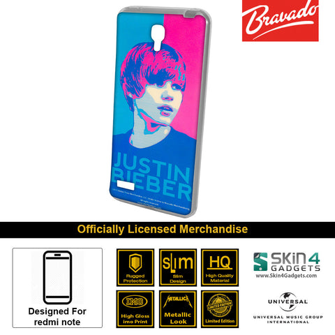Phone Case For Xiaomi Redmi Note  Artist: Justin Bieber Face