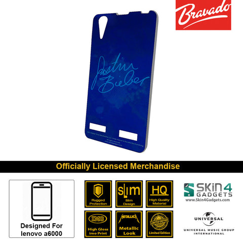 Phone Case For Lenovo A6000  Artist: Justin Bieber Signature