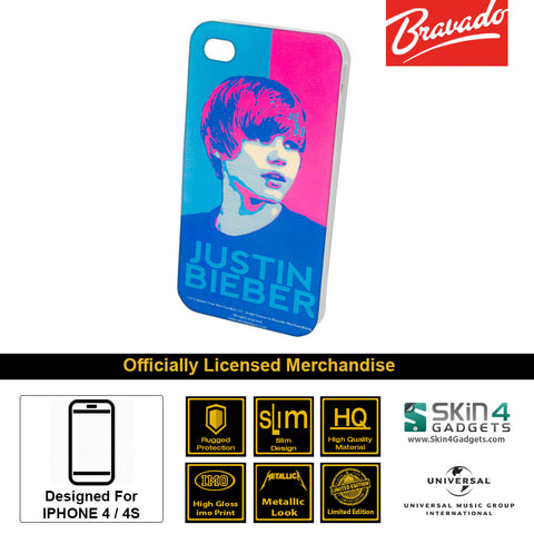 Phone Case For iPhone 4  Artist: Justin Bieber Face