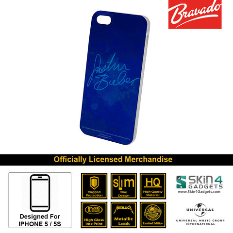 Phone Case For iPhone 5  Artist: Justin Bieber Signature