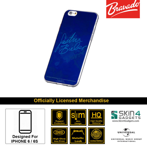 Phone Case For iPhone 6 , iPhone 6S  Artist: Artist: Justin Bieber Signature