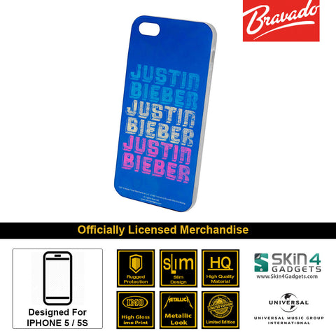 Phone Case For iPhone 5  Artist: Justin Bieber Triple
