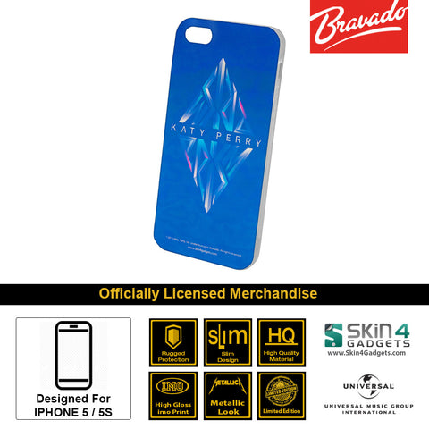 Phone Case For iPhone 5  Artist: Katy Perry Prism Blue