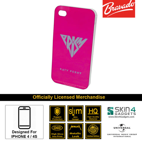 Phone Case For iPhone 4  Artist: Katy Perry Prism Pink