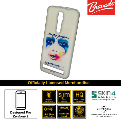 Phone Case For Zenfone 2  Artist: Lady Gaga Face