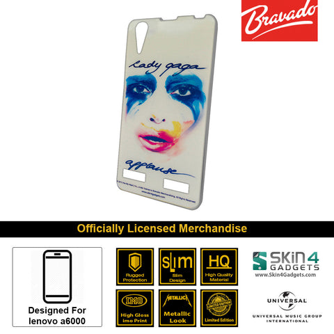 Phone Case For Lenovo A6000  Artist:  Lady Gaga Face