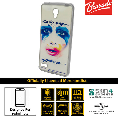 Phone Case For Xiaomi Redmi Note  Artist: Lady Gaga Face
