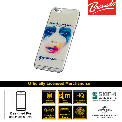 Phone Case For iPhone 6s Plus,6 Plus Artist: Lady Gaga Face.