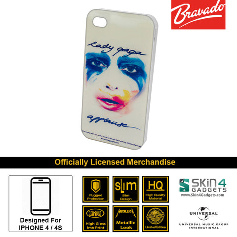 Phone Case For iPhone 4  Artist: Lady Gaga Face