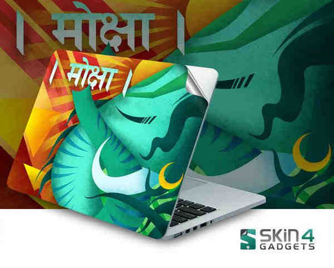 Moksha Laptop Skin For 14 inch Laptop
