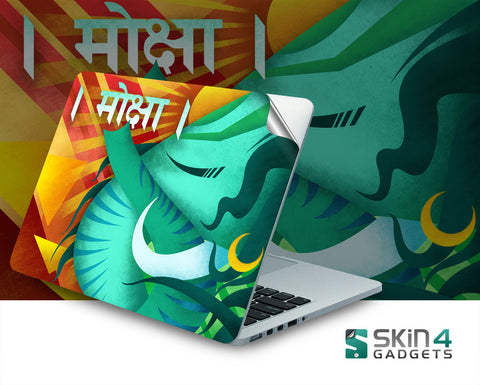 Moksha Laptop Skin For 11 inch and 11.6 inch Laptop - skin4gadgets