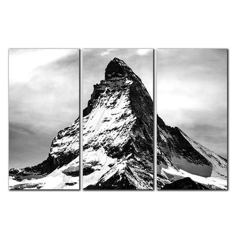 Mountain Landscape - Canvas Print Stretched and Framed