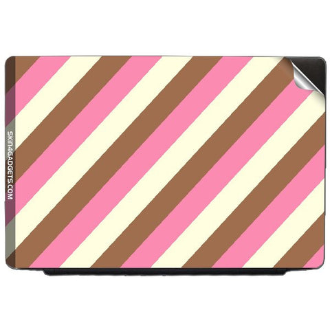NeaPolitian Stripes For DELL INSPIRON 14R-N4110   Skin