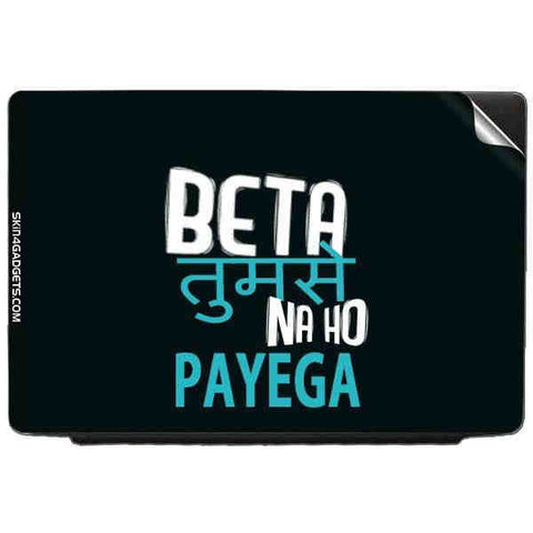 Beta tumse na ho payega For ACER ASPIRE 3610 Skin
