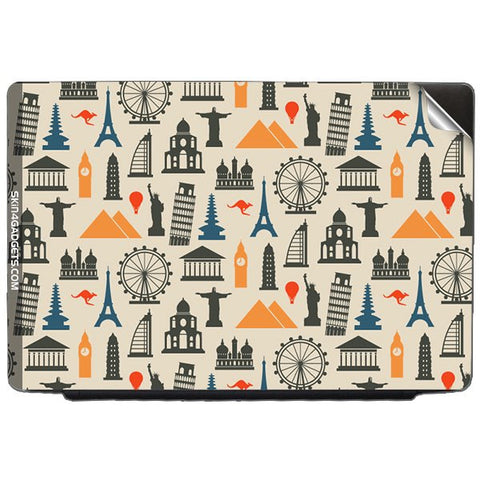 Wonders of the World For LENOVO THINKPAD T61 7658 14 Skin