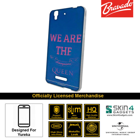 Phone Case For Micromax Yureka  Artist: Queen We Will Rock You Champions