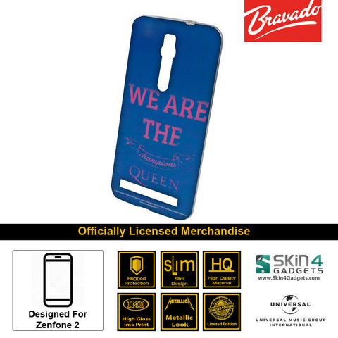 Phone Case For Zenfone 2  Artist: Queen We Are The Champions