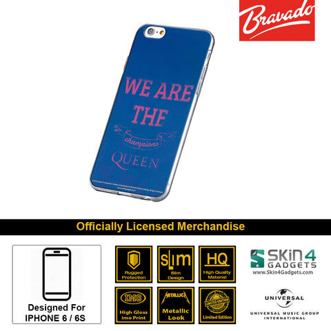 Phone Case For iPhone 6s Plus,6 Plus Artist: Queen We Will Rock You Champions.