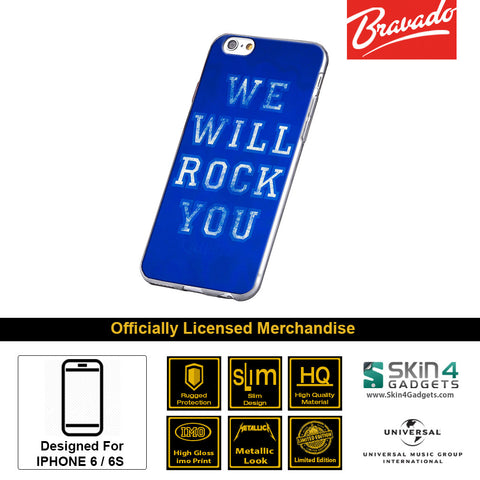 Phone Case For iPhone 6s Plus,6 PlusArtist: Queen We Will Rock You Edition.