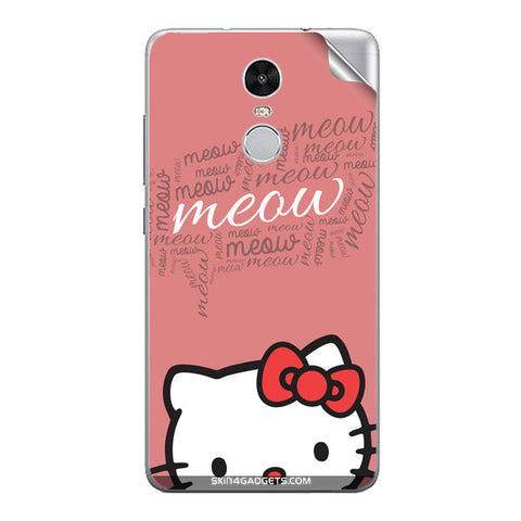 Meow For Xiaomi Redmi Note 3 skin