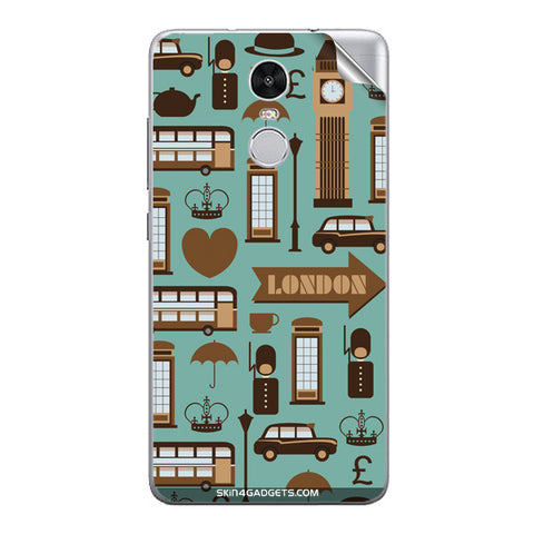 London Pattern For Xiaomi Redmi Note 3 Skin