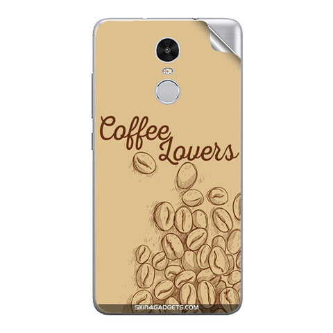 Coffee Lovers For Xiaomi Redmi Note 3 Skin
