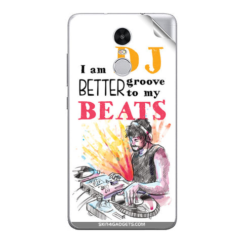 I Am Dj For Xiaomi Redmi Note 3 Skin