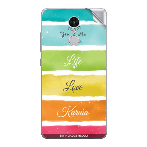 Lets Love Life For Xiaomi Redmi Note 3