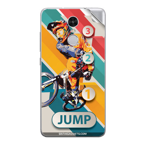 1 2 3 Jump For Xiaomi Redmi Note 3 Skin