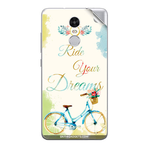 Ride Your Dreams For Xiaomi Redmi Note 3 Skin