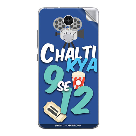 Chalti Kya 9 se 12 For Xiaomi Redmi Note 3 Skin