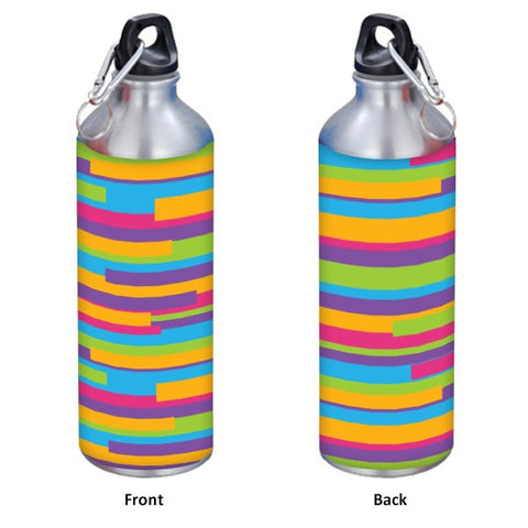 Colorful Strips Pattern  500 ml Designer Sipper