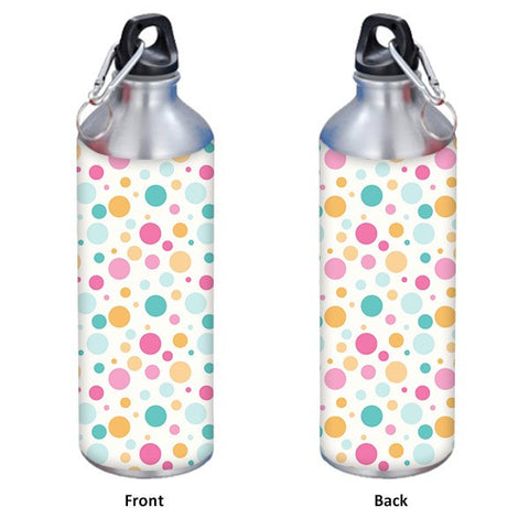 Colorful Dots Pattern 500 ml Designer Sipper