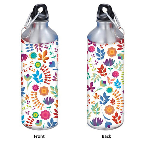 Colorful Background Abstract Style 750 ml Designer Sipper