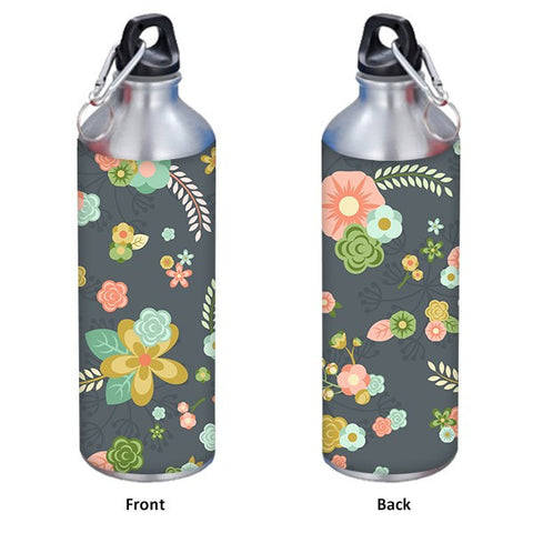 Floral Ornaments Background 1 750 ml Designer Sipper
