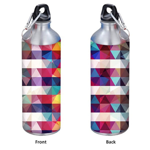 Colorful Square Pattern 500 ml Designer Sipper