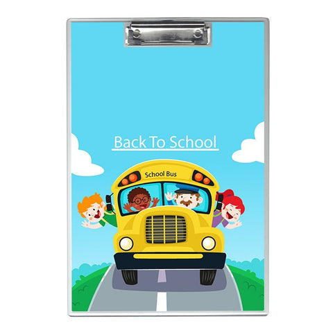 Back to school bus Writing Pad