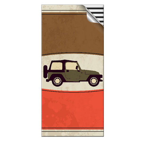 Skin4Gadgets 15000 mAh retro jeep designer Power Bank