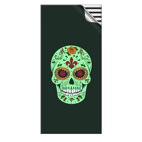 Skin4Gadgets 15000 mAh sugar skull green designer Power Bank