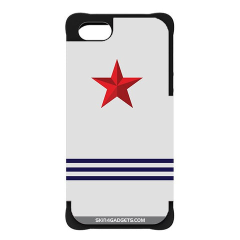 Star Strips For APPLE IPHONE 5 BLACK CARGO CASE