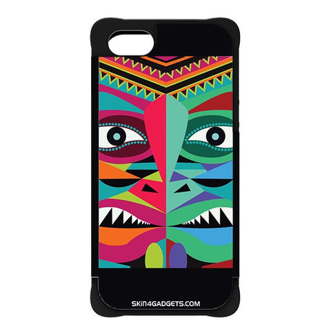 Tribal Face For APPLE IPHONE 5 BLACK CARGO CASE