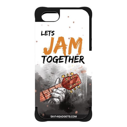 Lets Jam Together For APPLE IPHONE 5 BLACK CARGO CASE