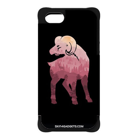 Mountain Goat For APPLE IPHONE 5S BLACK CARGO CASE