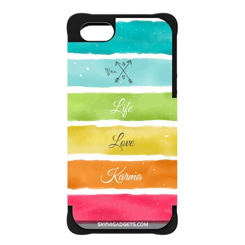 Lets Love Life For APPLE IPHONE 5S BLACK CARGO CASE