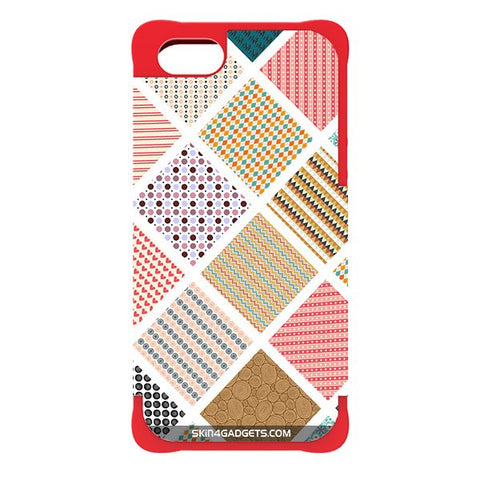 Varied Pattern For APPLE IPHONE 5 RED CARGO CASE